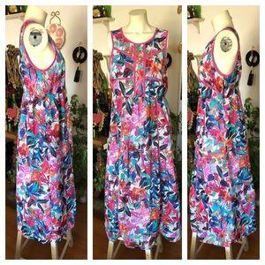NICOLE MILLER Floral Dress